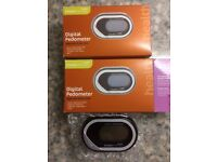 Bargain 2 digital pedometer brand new still boxed