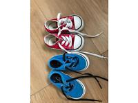 Kids converse and vans trainers BARGAIN