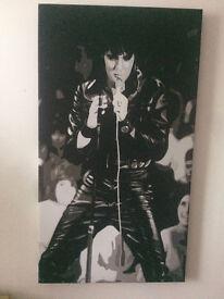 Gliclee art - canvas - Elvis -1968 comeback special