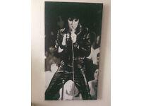 Elvis Presley Gliclee art - canvas -1968 comeback special -can deliver