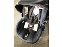 Hauck comfort fix infant car seat & isofix base