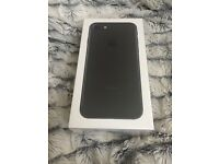 iPhone 7 black 32gb unlocked brand new