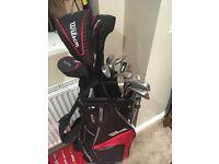 Wilson staff 11peice set Golf clubs