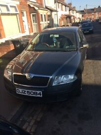 Skoda OCTAVIA 5dr Hatchback Manual Grey 2006 MOT 10 months