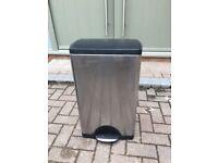 Simplehuman kitchen pedal bin steel - bag J