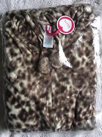 Brand New women's leopard print onesie size 16-18