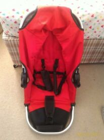Baby Pram Includes Bassinet & Toddler Seat, in good condition