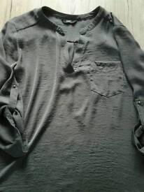 Ladies grey shirt size 18 new