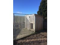 Kennel and panels