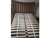 Double Bed From Next Home Wooden Frame with Drawers