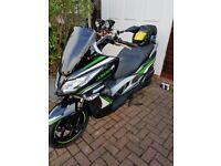 Kawasaki J125 2016 ABS for sale 3.200£