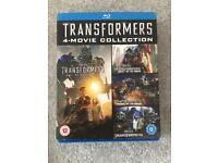 Transformers boxset blu ray