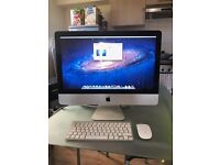 "iMAC (mid 2011) 21.5"" PC+wireless keyboard+magic mouse"