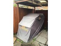 Motorbike folding shelter