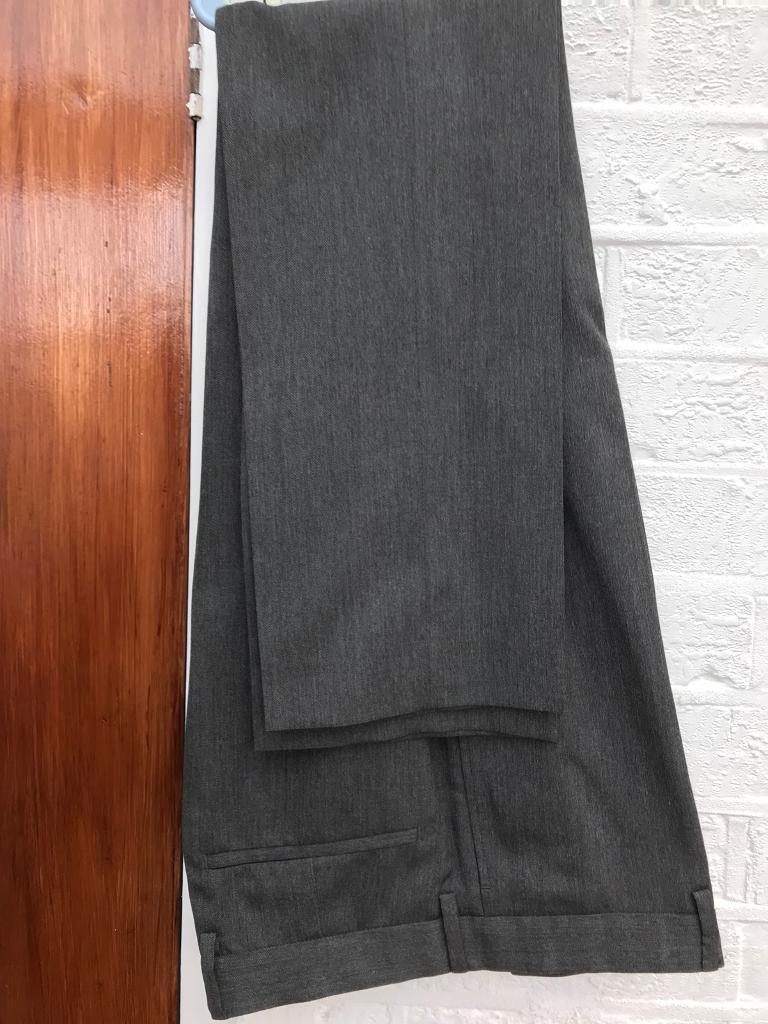 """3x Slim fit trousers 32"""" regular length"""