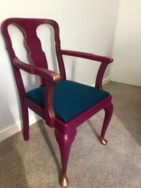 Upcycled Statement Chair