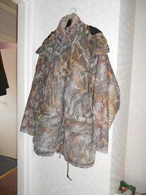dear hunter coat hood into coller