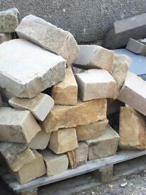 Sandstone rubble