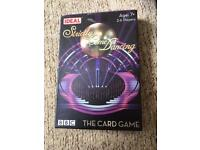 Strictly come dancing game card NEW