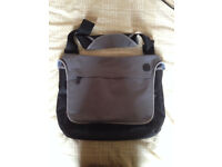 Red Herring Laptop Padded Bag In Grey And Black