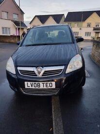 Vauxhall zafira 1.6 life petrol manual