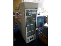 Polar DM075 218 Ltr Tall Glass Door Display Fridge