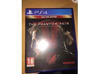 Metal Gear Solid 5 Phantom Pain PS4