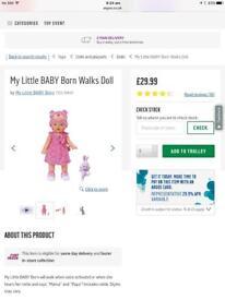 Baby born walks and talks brand new