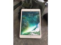 Apple Ipad Mini 2 - White pristine condition, protected