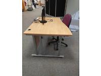 1.2m Wave Desks
