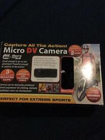 Mirco dv camera with sd card