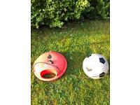 Soccer swingball