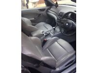 2004 bmw 318 2l convertible with hard top