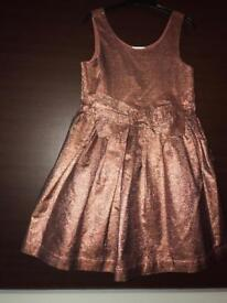 Girls Next party,Christmas dress age 7 £10
