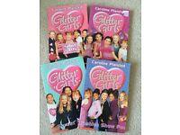 Four Caroline Plaisted 'Glitter Girls' Books