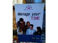 Manage your time book