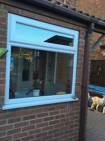 PVC window 1230x1200