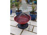 red globe fire pit / grill