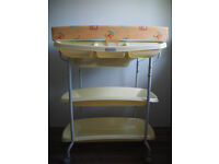 baby changing unit with bath mamas & papas