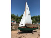 Gull dinghy in superb condition