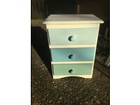 Shabby chic bedside drawers