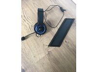 PS4 headset and console stand