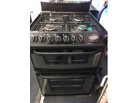 CANNON 60CM ALL GAS COOKER IN BLACK