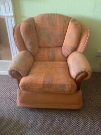 Sofa and single seat