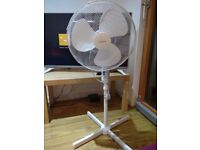 Goodmans 16 inch pedestal fan for sale. It is in excellent condtion. Hardly used. Selling price £10.