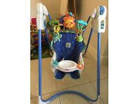 Mattel Fisher fisher Price Babygear Link-A-Doos Magic Motion Swing