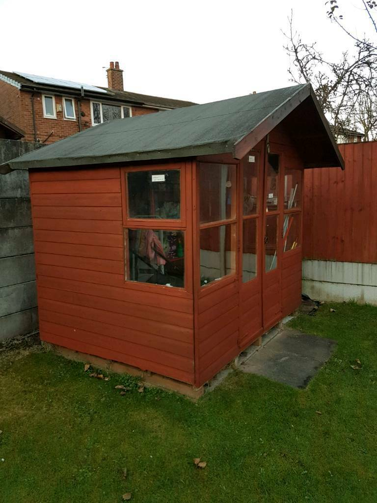 summer house 8x6 garden shed - Garden Sheds Gumtree