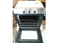 INDESIT Matching Electric Oven and Gas Hob...(Built in under counter oven)