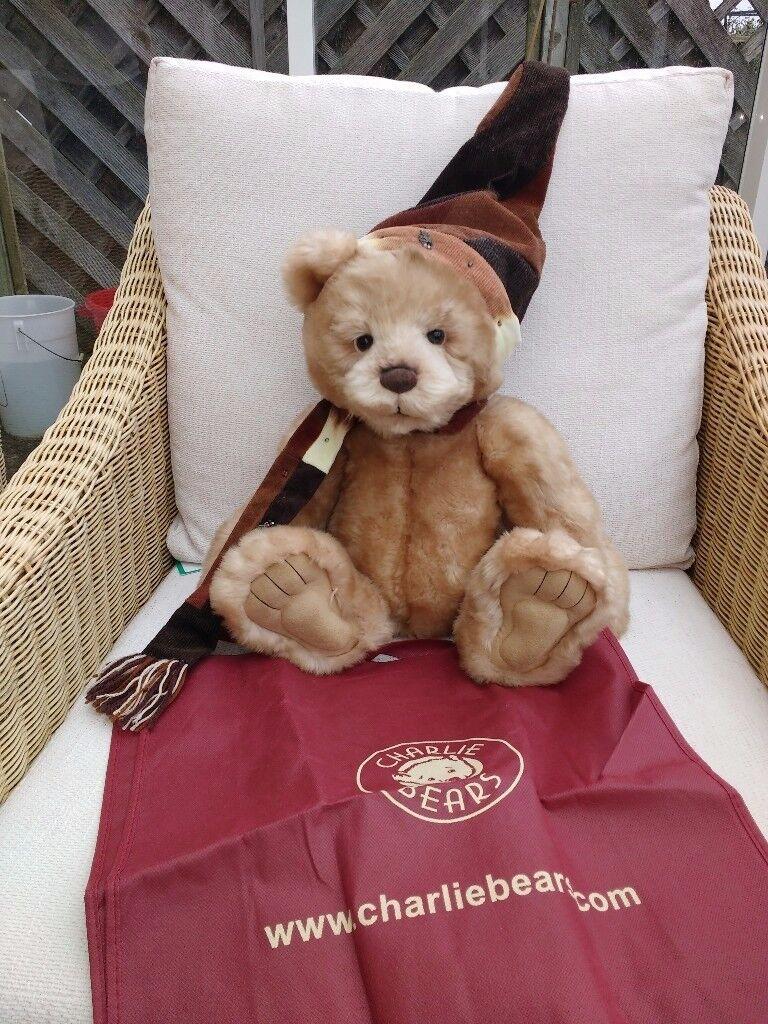 Charlie Bears Santa Paws 55cm bear