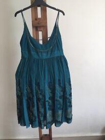 Beautiful embellished Karen Millen silk dress